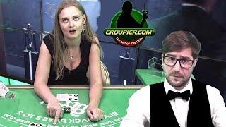 Online Blackjack CSGO DEALER vs CARD COUNTING ROCKY TRAINING CROUPIER! £3,600 BANKROLL!