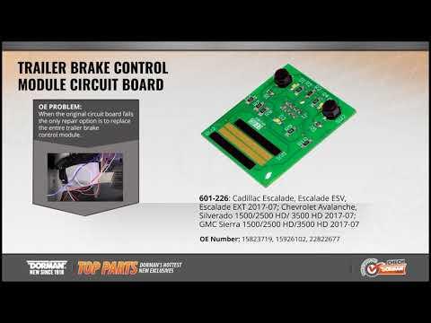 Trailer Brake Control Module Circuit Board