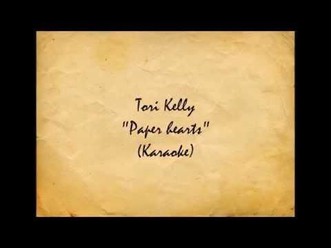"Tori Kelly - ""Paper Hearts""(Karaoke)[Piano Ver.]"