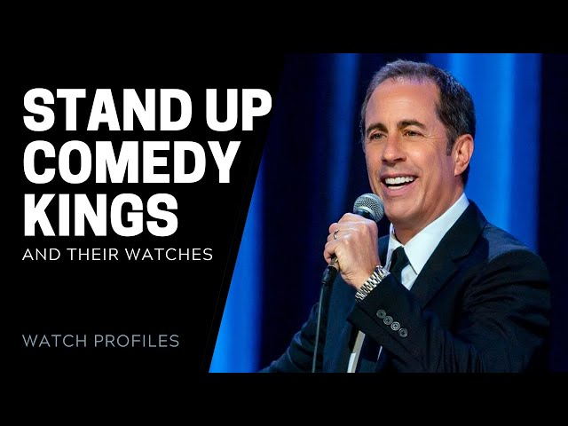 Jerry Seinfeld, Dave Chappelle, Kevin Hart and more: Stand Up Comedian Watches | SwissWatchExpo