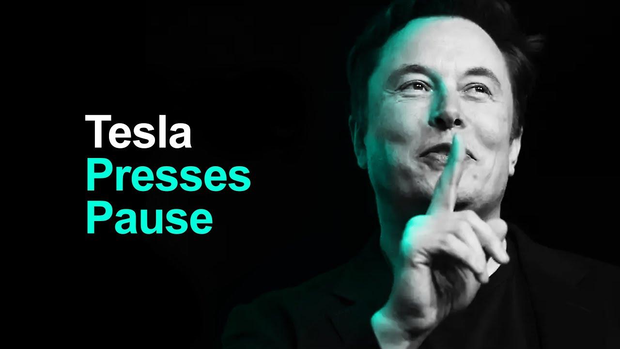 Tesla HALTS Model 3 Production In US (as media spreads BS)
