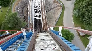 American Eagle Front Seat POV 2015 FULL HD Six Flags Great America