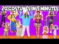 POISON IVY MAKEUP & COSTUME TUTORIAL | Halloween 2015