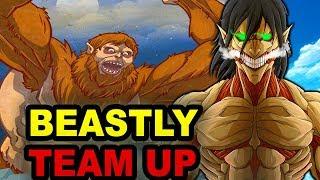 Eren And Beast Titan Team Up? Attack on Titan Chapter 98 Review Shingeki no Kyojin