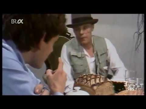 "Joseph Beuys - ""Frühstücksgespräch"" 1/2"
