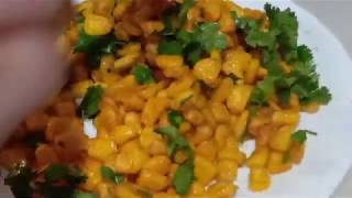 Masala corn recipe | sweet corn crispy-spicy chat