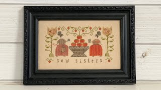 Flosstube 7 - My stitchy guest Kristie from Crosshatch Quilts!