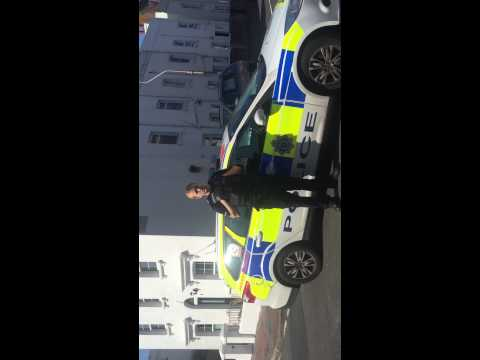 Police officer needs to learn the law SUSSEX POLICE!