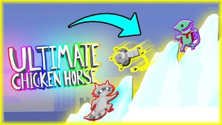 NAJBARDZIEJ CHAMSKA GÓRA LODOWA | Ultimate Chicken Horse [#106] | BLADII