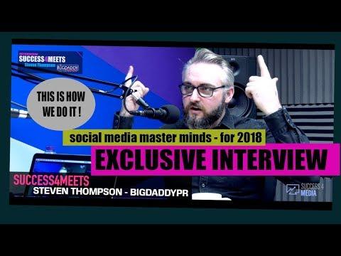 SUCCESS4MEETS - BIG DADDY PR STEVEN THOMPSON