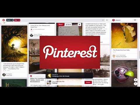 Pinterest 2015 Tutorial for Education