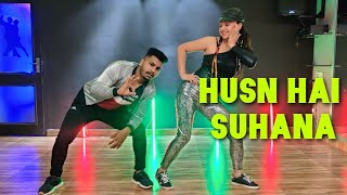 Husn hai Suhana   Bollywood Dance   90's Hit song   Govinda & Karisma   Choreo by The Dance Mafia