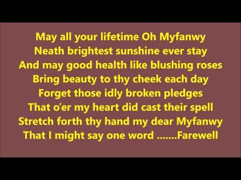DOWLAIS MALE CHOIR SING MYFANWY