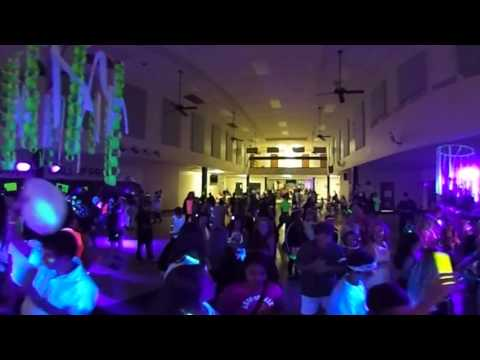 Lecanto Middle School 2016-17 Glow Dance Party in USA