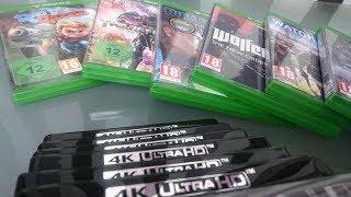 Пополнение #42: Metro Exodus для Xbox One X + 4K Blu-Ray фильмы. Настоящее 4K или нет ?