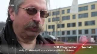 Zeitarbeit und Versklavung von Leiharbeitern 2016 (ZDF Frontal 21 23.2.16)