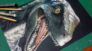 SPEED DRAWING VELOCIRAPTOR (JURASSIC WORLD)