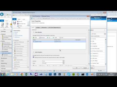 CRM 2011 Create A JavaScript Web Resource