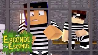 Minecraft: YOUTUBERS PRESOS! (Esconde-Esconde)