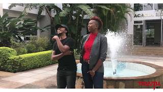 Mr Vee (The Spice) Making of the interview -  (Mseto radio) Melody Sinzore