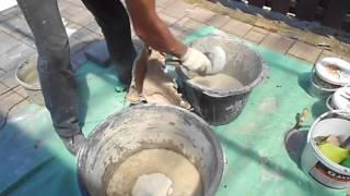 Советы от Панкрата  Приготовление смеси для декоративного бетона