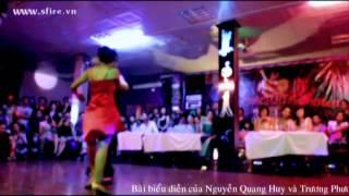[S-FIRE STUDIO] Hanoi Bachata Contest 2012 - Final Dance - Nguyen Quang Huy & Truong Phuong Thao