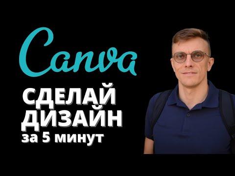 Лучший сервис для создания дизайнов - Canva (проще чем фотошоп)