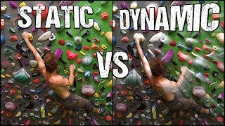 Rock Climbing Technique For Beginners : Static VS Dynamic Styles