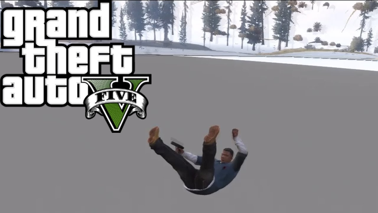 gta 5 fall through the map glitch tutorial how to youtube