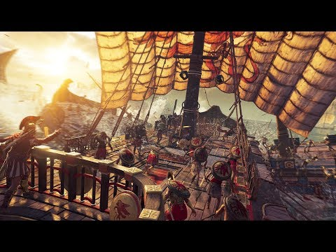 Assassin's Creed Odyssey Naval Combat Gameplay