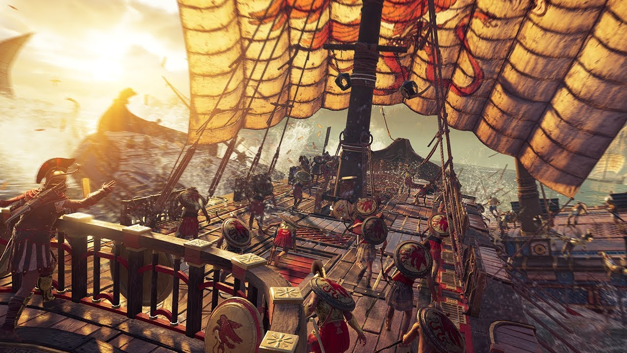Image result for assassin's creed odyssey ship