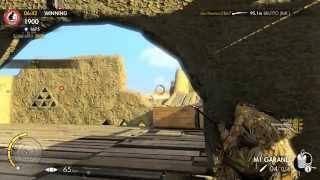 Sniper Elite 3 - TDM Multiplayer Gameplay (PC)