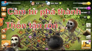 NMT | Clash of clans | Combo troll chay ôm bom Wall breaker siêu thốn