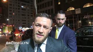 Conor McGregor talks about Floyd Mayweather in UFC, his future, Ronda Rousey on 1/31/18