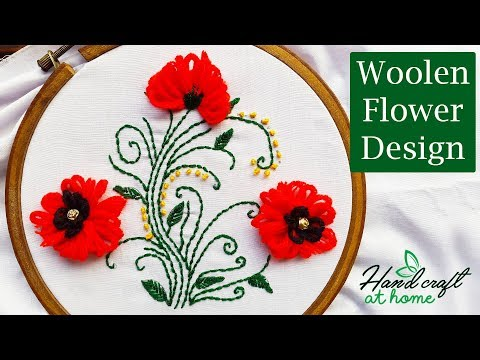 woolen-flower-design