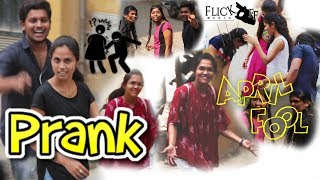 April fool prank video || best telugu prank 2018|| in hyderabad || funny video || FLICK OFF MEDIA