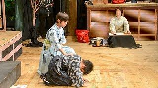 演者は子ども、大人が支える 「村国座」地歌舞伎