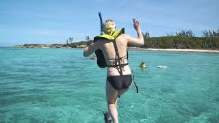Adventure Yacht Turtle and Reef Snorkel, Nassau, Bahamas