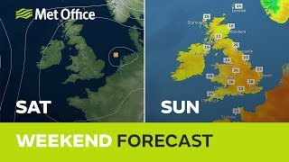Weekend weather - Drier and warmer but will it last? 20/06/19