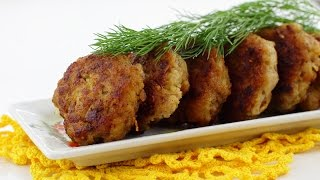 Котлеты экономные из свинины — видео рецепт