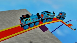 THOMAS AND FRIENDS Crashes Surprises Thomas Wooden Railway Roller Coaster Thomas the Train 14