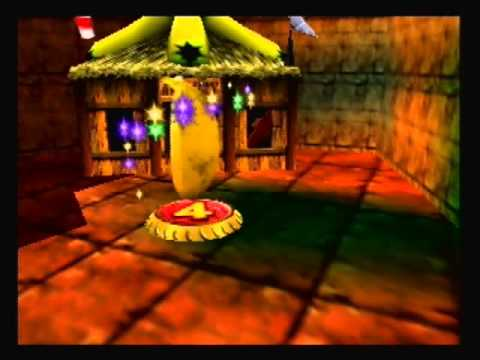 Let's Play Donkey Kong 64 Blind (18) The Ancient Aztec Stone Wall
