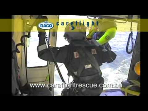 How To Winch From A Helicopter To A Moving Boat