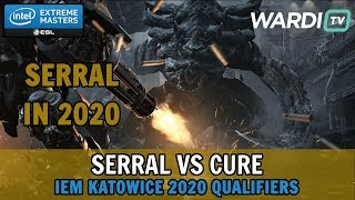 Serral vs Cure (ZvT) - IEM Katowice 2020 Qualifiers
