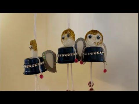diy zu weihnachten engel aus tchibo kapseln basteln. Black Bedroom Furniture Sets. Home Design Ideas