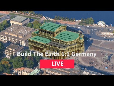 Build The Earth 1:1 Germany | Building Dresden