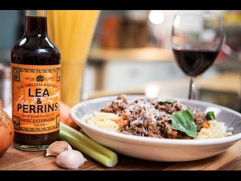 Lea & Perrins SORTED food – How to make the Italian classic Spaghetti Bolognese