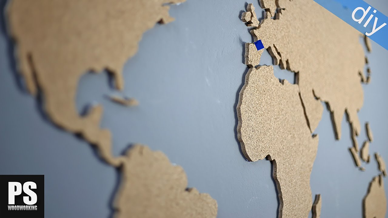 Cork world map youtube gumiabroncs Choice Image