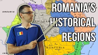 ROMANIA'S HISTORICAL REGIONS | Learn Romanian Geography #1