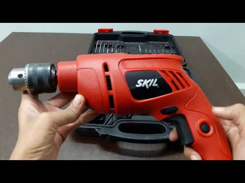 Skil 6513 jd13mm drill machine detail test and unboxing